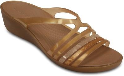Crocs Women Brown Wedges