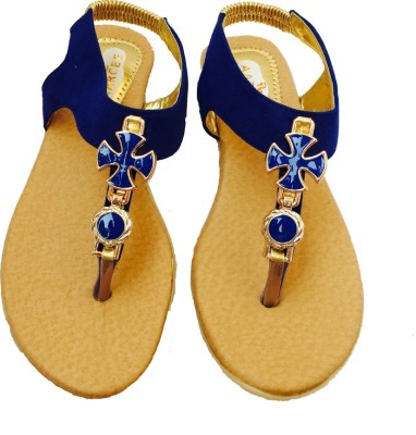 Recent Collection Women Blue Flats