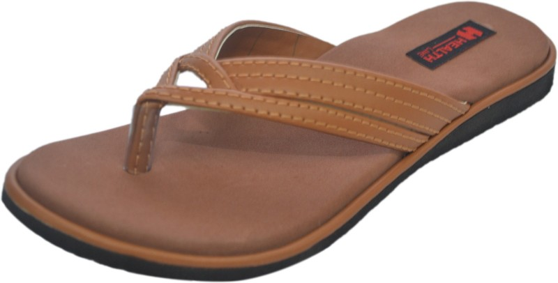 Health Line Women Tan Flats
