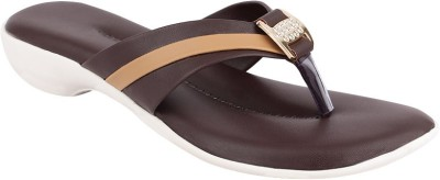 Fashion Victory Women Brown Wedges
