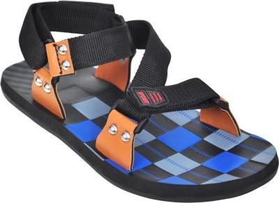 Domestiq Men Black Sandals