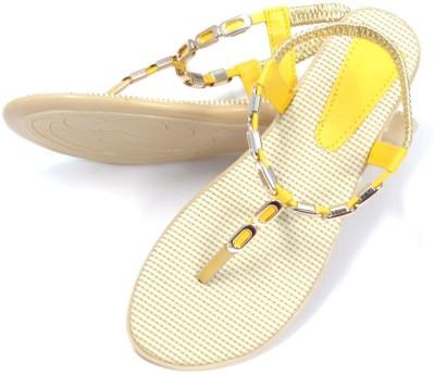 CreativeSelections Women Yellow Flats
