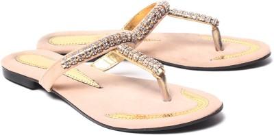 Dezire Women Gold Flats
