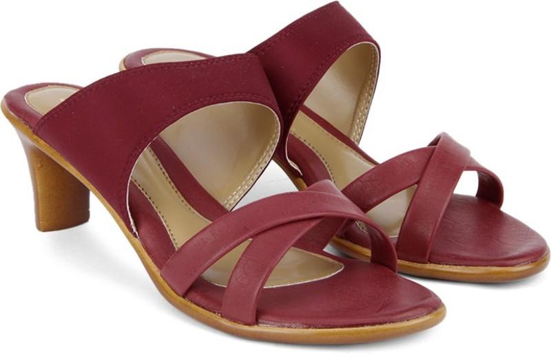 Bata Women Red Heels