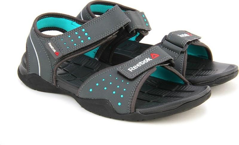 Reebok Women GRAVEL/TEAL/MET SIL/BLK Sports Sandals