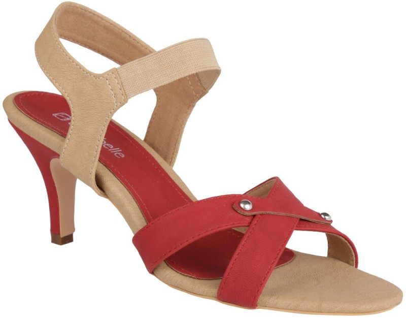 Annabelle by Pantaloons Women Red Heels
