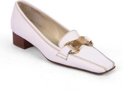 Moda Di Fausto Women White Heels