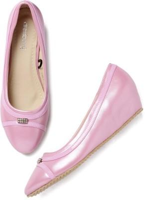 Dressberry Women Pink Heels at flipkart