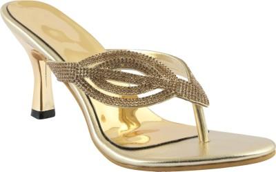 Shoestory Girls Gold Sandals