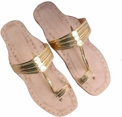 Sushito Women Gold Flats