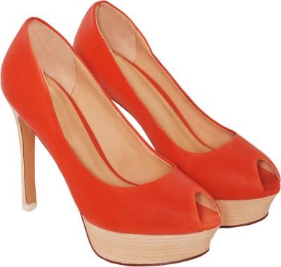 Bello Pede Women Red Heels