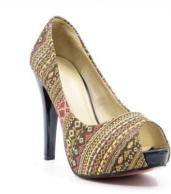 Belle Gambe Women Brown Heels