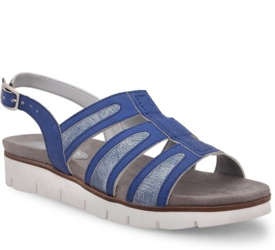La Briza Women Blue Sports Sandals