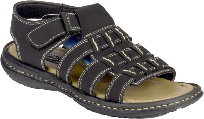 Volo Men Black Sandals