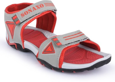 Sonaxo Men Red Sandals