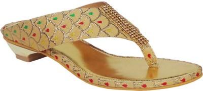 Liza Women Gold Heels