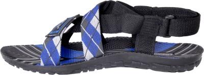 Chroma Men Black, Blue Sandals