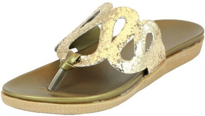 Small Toes Baby Girls Gold Sandals