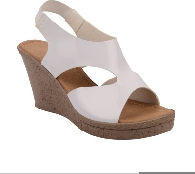Chicopee Women White Wedges