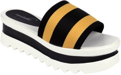Wanderlust Women Yellow Flats