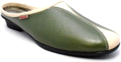 Canthari Spirit Women Green Heels