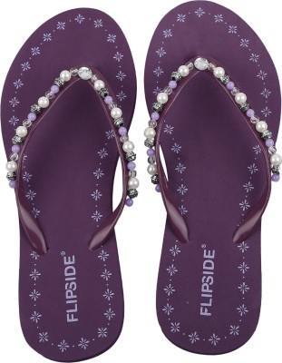 Flipside Pearl Purple Women Purple Flats