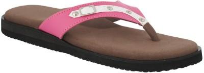 Dia One Diabetic Footwear Women Pink Flats