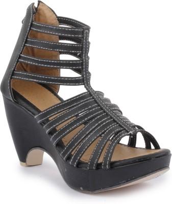 SBF Women Black Heels