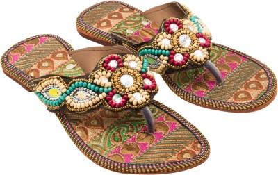 Vinayak Collection Women Pink Flats