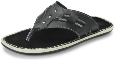 Nawaabs STEP8106 Men Black Flats