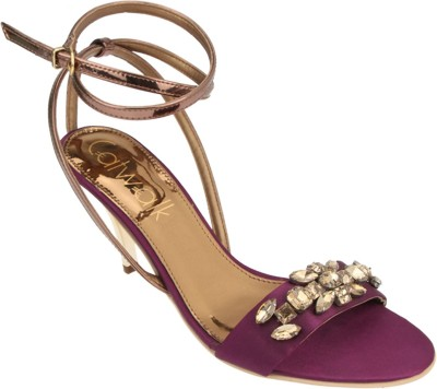 Catwalk Women Purple Heels