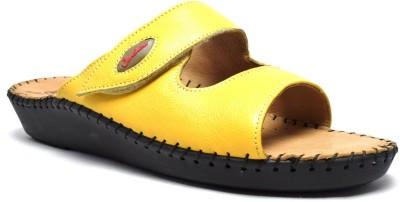 Canthari Women Yellow Flats