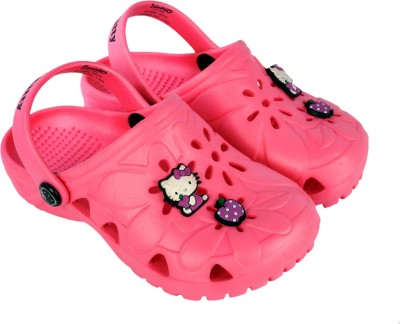 Hello Kitty Girls Pink Clogs