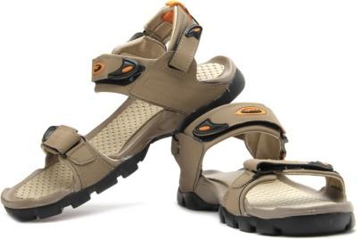 Sparx Men Brown, Orange Sandals