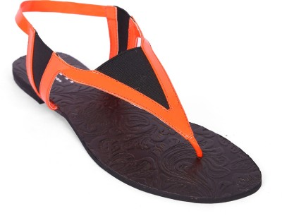 Zotti Women Orange Flats