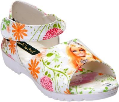 CatBird Girls Green Sports Sandals