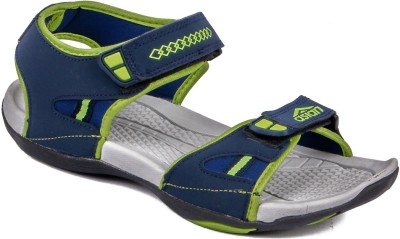 ASIAN Men Navy, Green Sandals