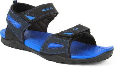 Mmojah Men Blue, Black Sandals
