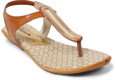 Bellafoz Women Brown Flats