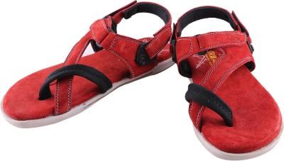Triad Men Red Sandals