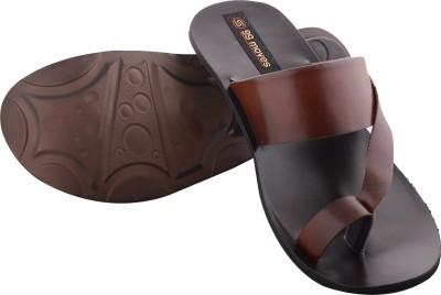 99 Moves Men Brown Sandals