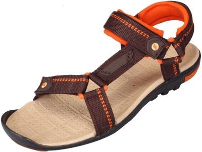 LEE WON Men Brown Sandals