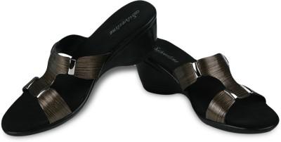 Silverline Silkyline Special Women Brown Wedges