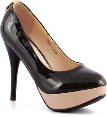Willywinkies Women Black Heels