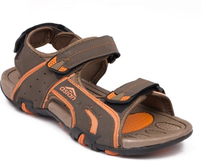 ASIAN Men Brown, Orange Sandals