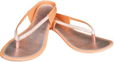 Western Fits Women Orange Flats