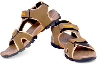 TOUCHWOOD Men, Boys Brown, Orange Sandals