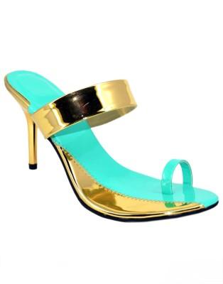 BLUE PARROT Girls Green Flats