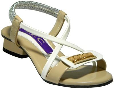 Europian Girls White Heels