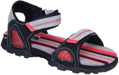 IRUS R-SPORTS Men Grey, Red Sandals